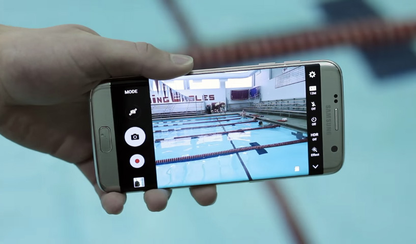 Samsung Galaxy S7 Water Resistant