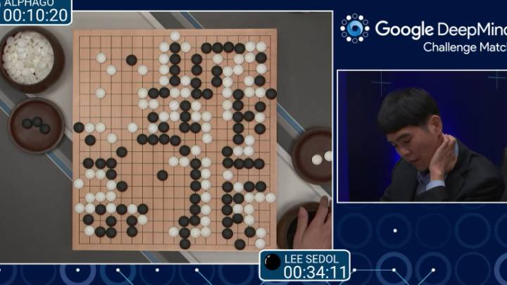 Google AlphaGo Go Win
