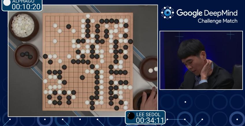 DeepMind AlphaGo Go Match Final