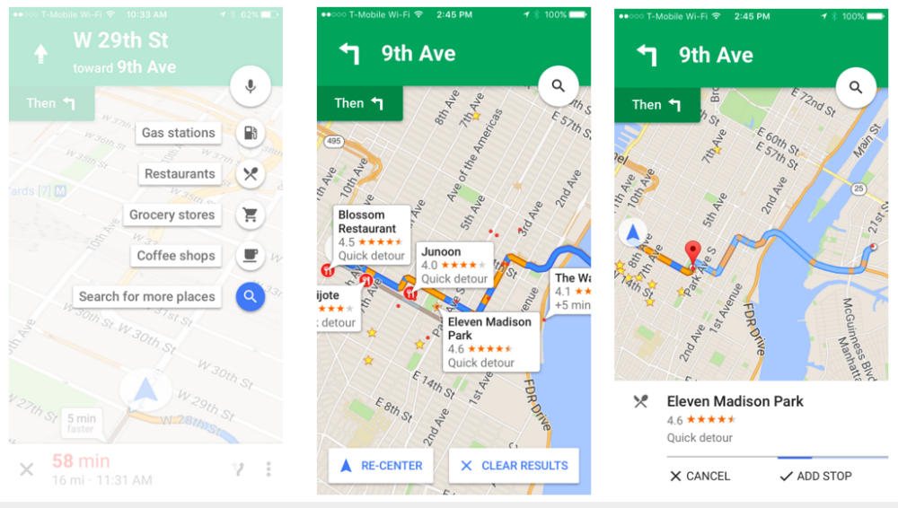 google-maps-iphone-pitstop-detour