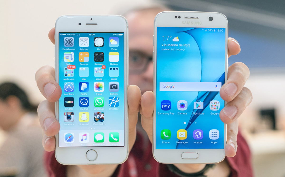 iOS 9 and Android 6.0 are both 6 months old… let's see how adoption compares