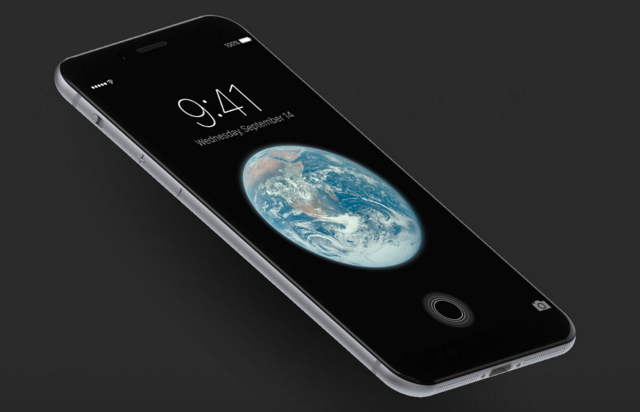 iPhone Design Home Button
