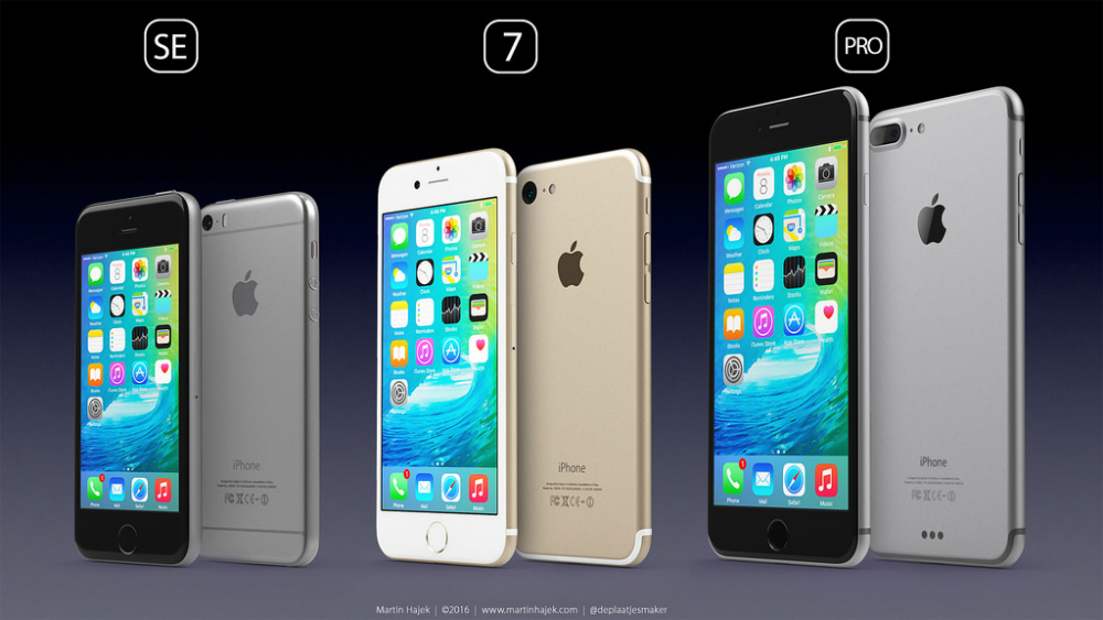 iPhone 7 Pro SE Design Renders
