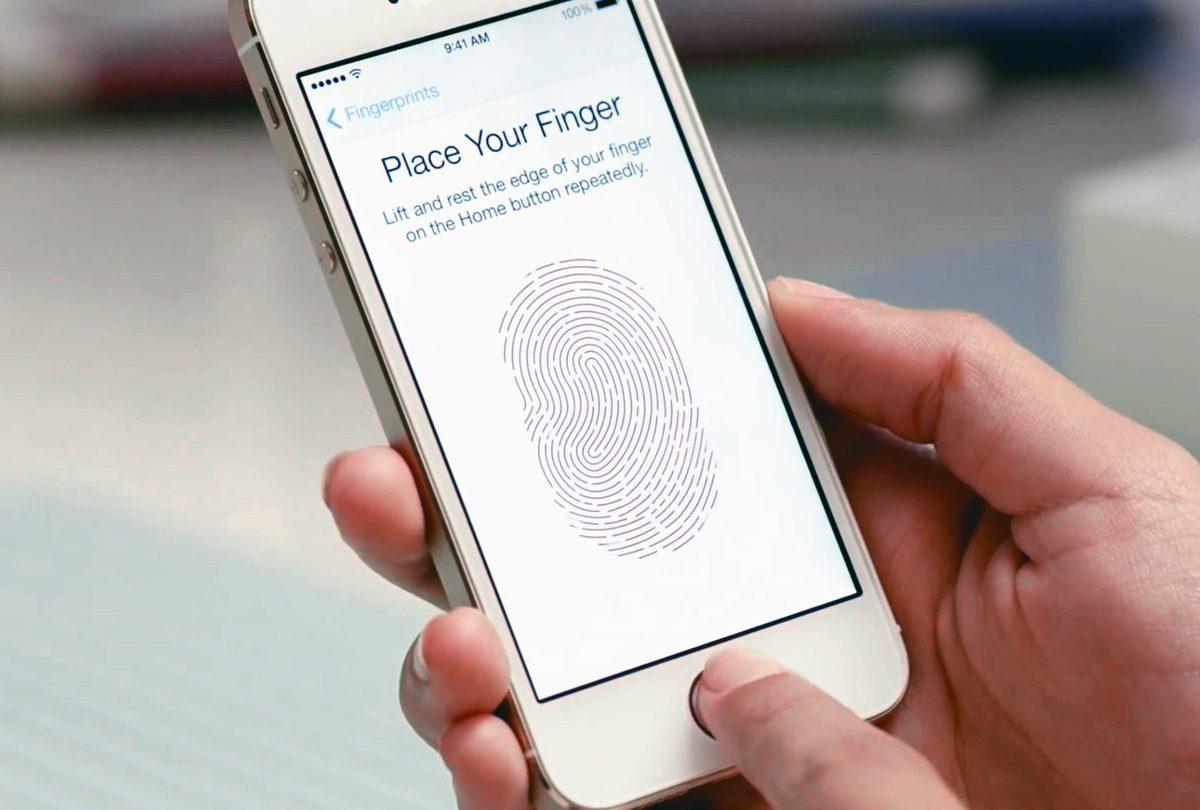 iPhone Security Screen