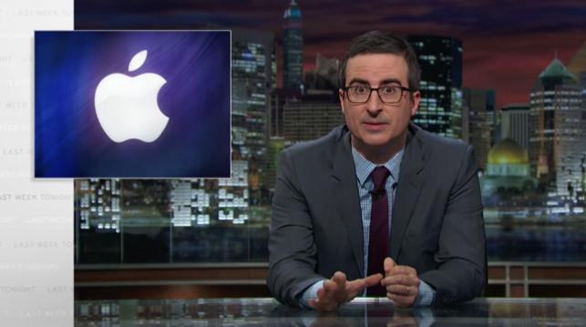 Apple FBI iPhone John Oliver