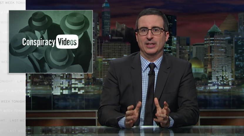 John Oliver YouTube Conspiracy Theories
