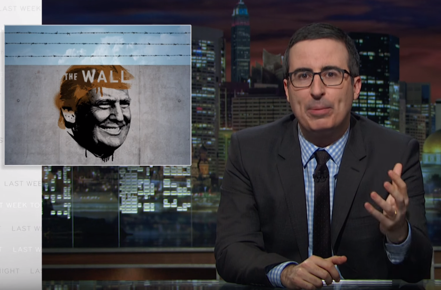 John Oliver Vs Donald Trump Border Wall