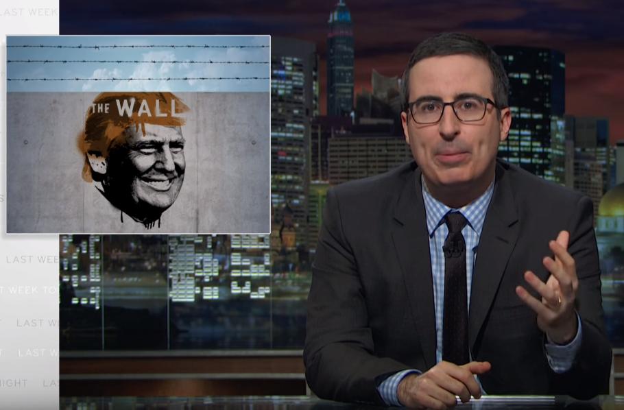 John Oliver Vs Donald Trump Border Wall