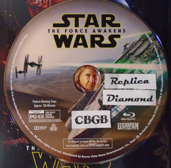 Leaked Force Awakens Disc