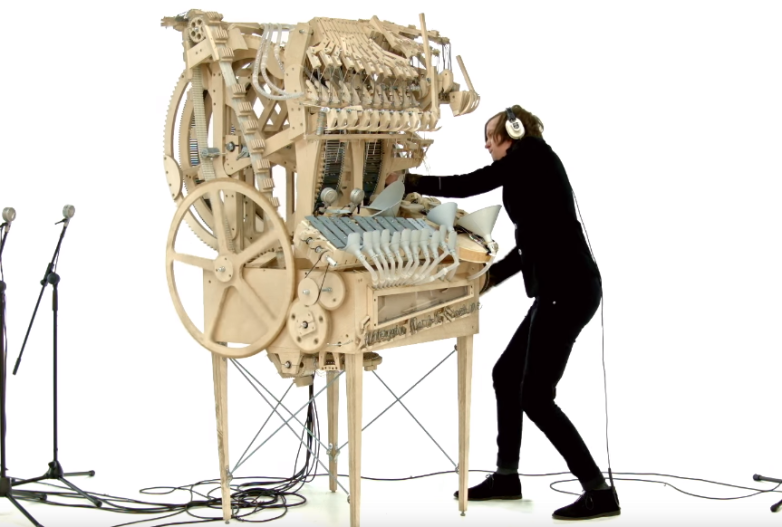 Wintergatan Marble Music Machine Viral Video