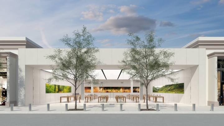 Redesigned Apple Store Photos