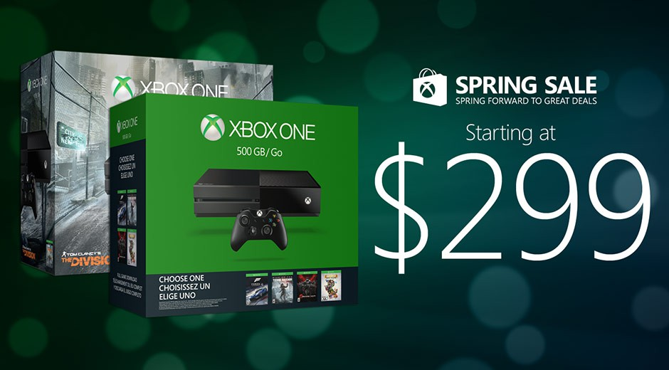 Xbox One Spring Sale