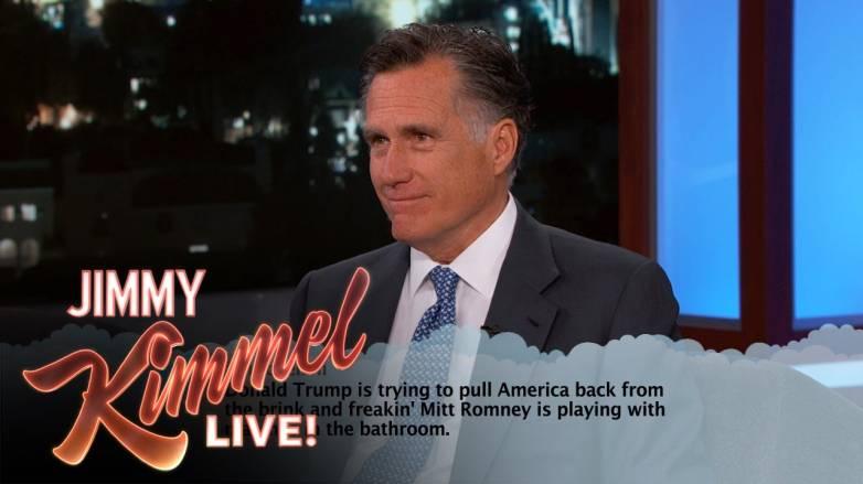 Mitt Romney Mean Tweets Donald Trump