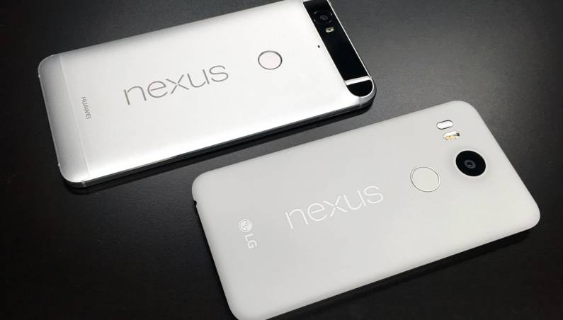 2016 Google Nexus Phones