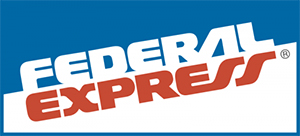 original federal express logo