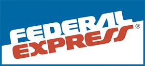 original federal express logo