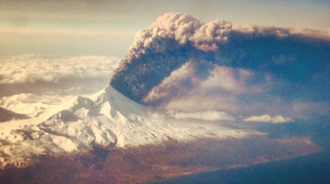 Pavlof Volcano Alaska Eruption Photos