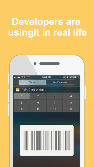 Point Card Widget