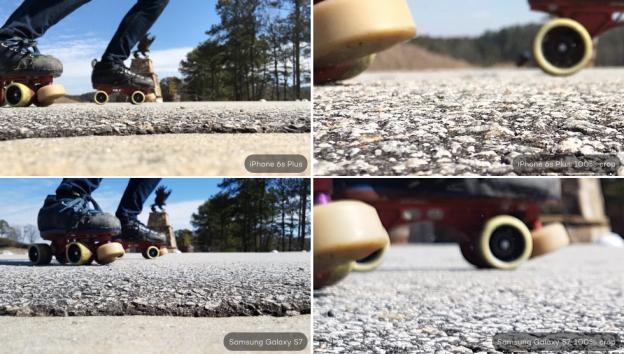 Kết quả hình ảnh cho camera s7 vs iphone