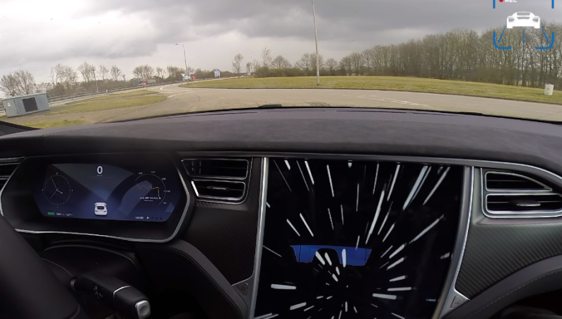 Tesla Model S Ludicrous Speed Video