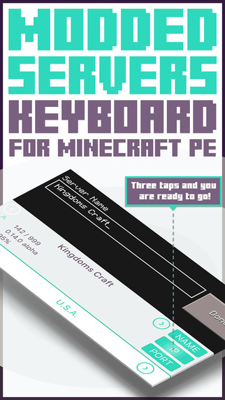Servers KEYBOARD for Minecraft