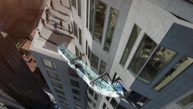 Los Angeles Skyslide U S Bank Tower