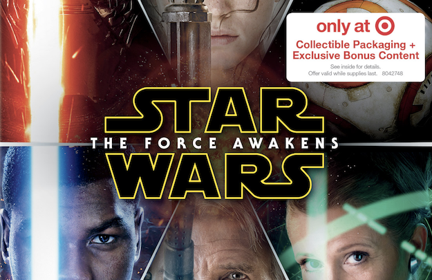 Star Wars The Force Awakens Blu-ray Release Date