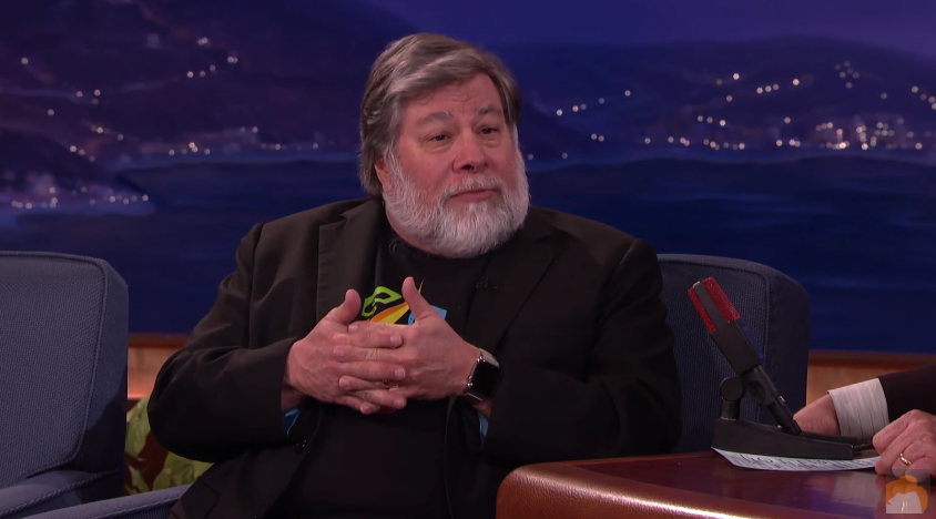 Steve Wozniak Mac Viruses Conan