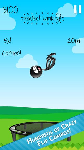 Stickman Trampoline PRO