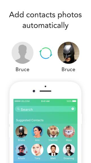Sync Facebook Contacts Photos