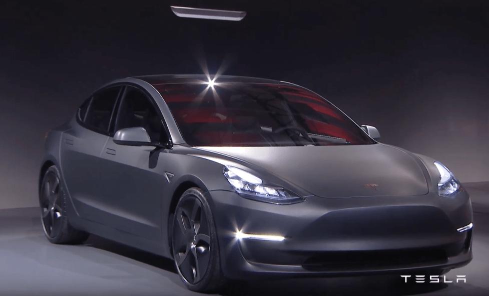 Tesla Model 3 Announcement Price Release Date