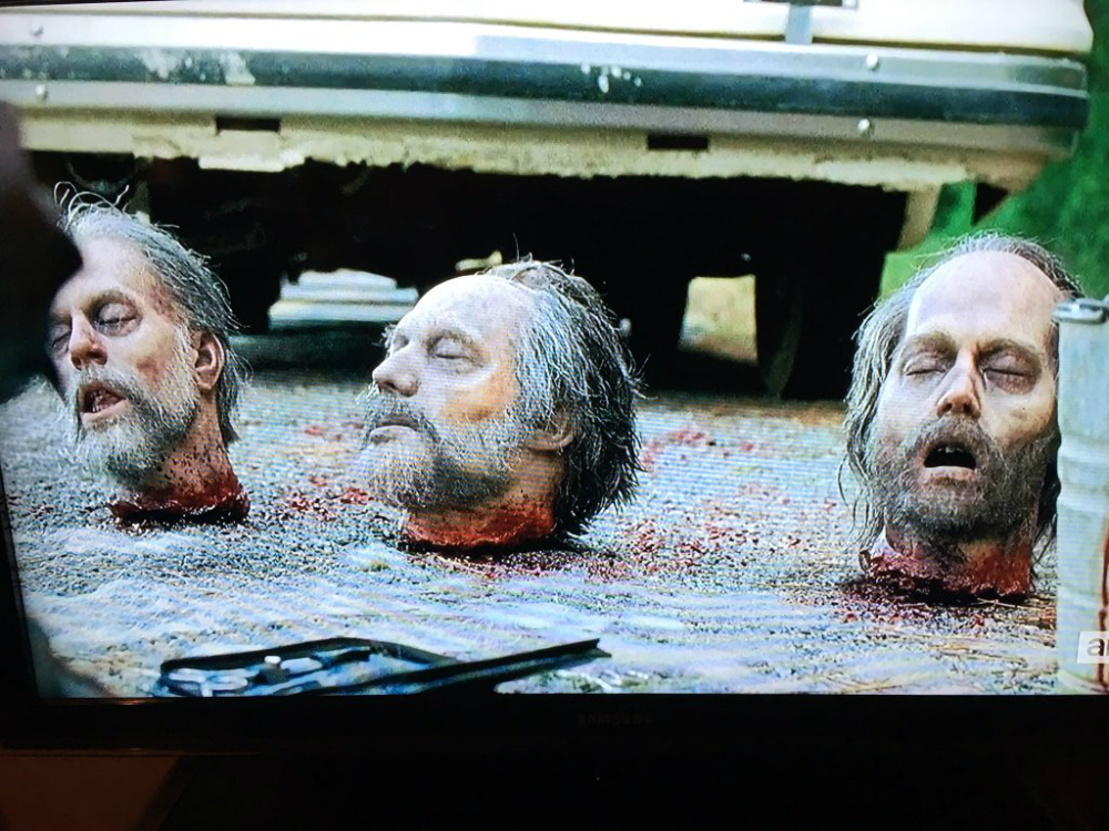 Johnny Depp The Walking Dead Cameo