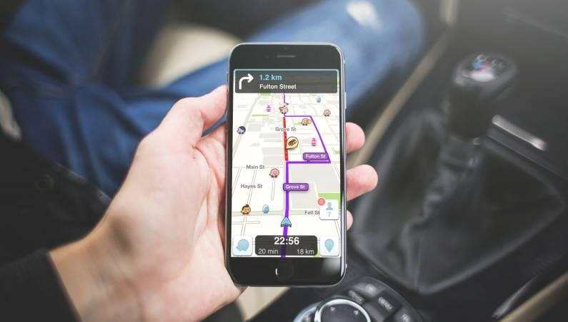 Waze traffic data