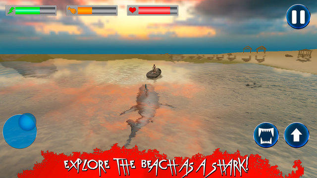 Wild Angry Shark Simulator 3D Full