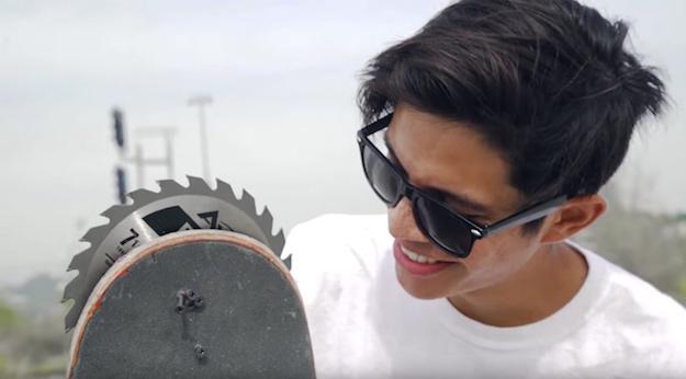 Skateboarding Trick