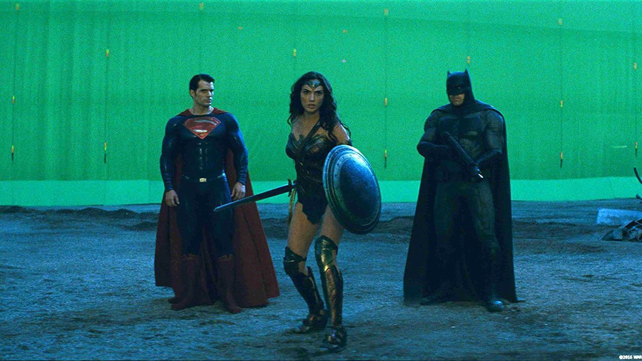 batman v superman without special effects  video