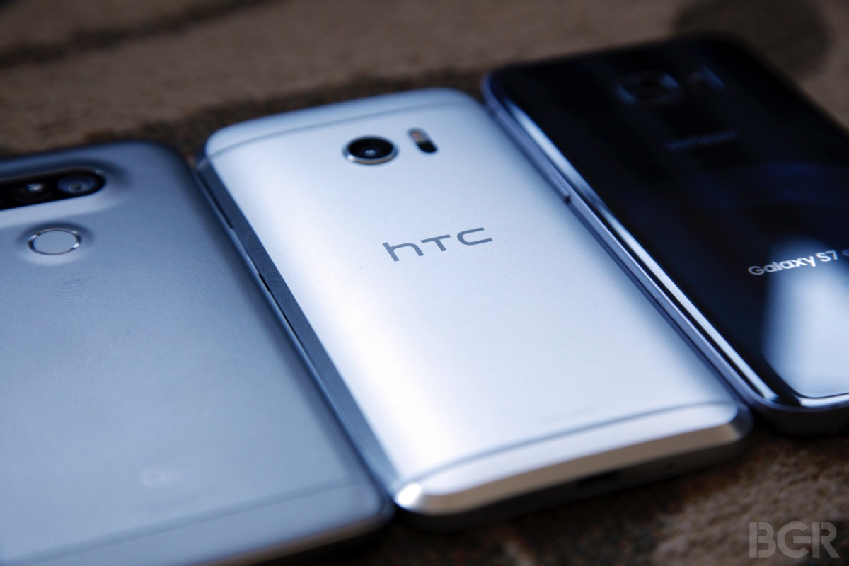Galaxy S7 Vs HTC 10