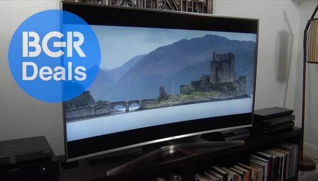 Curved 4K TV 65 Inches