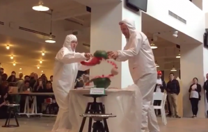 BuzzFeed Exploding Watermelon Viral Video