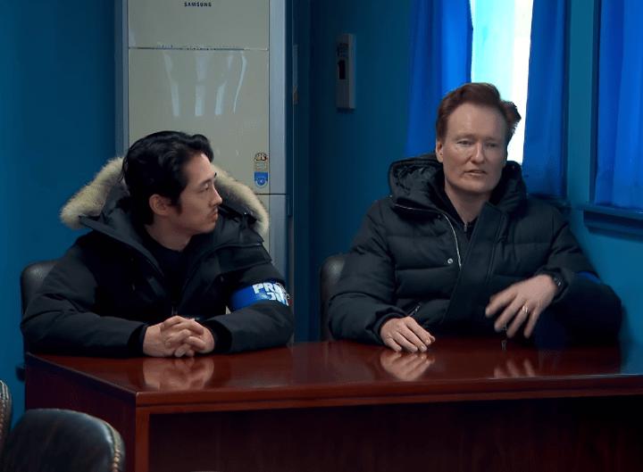 Conan O'Brien North Korea Talk Show Video
