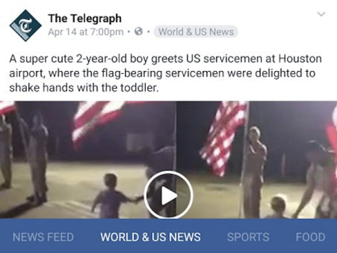 Facebook News Feed Redesign Test