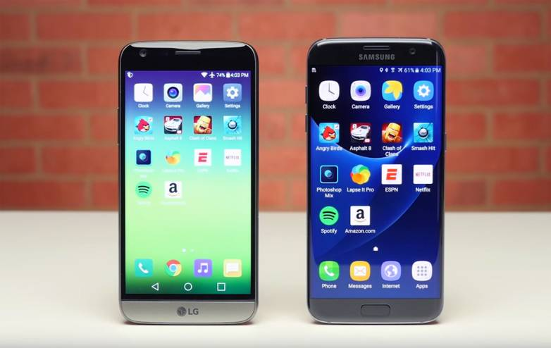 LG G6 vs. iPhone 8 vs. Galaxy S8