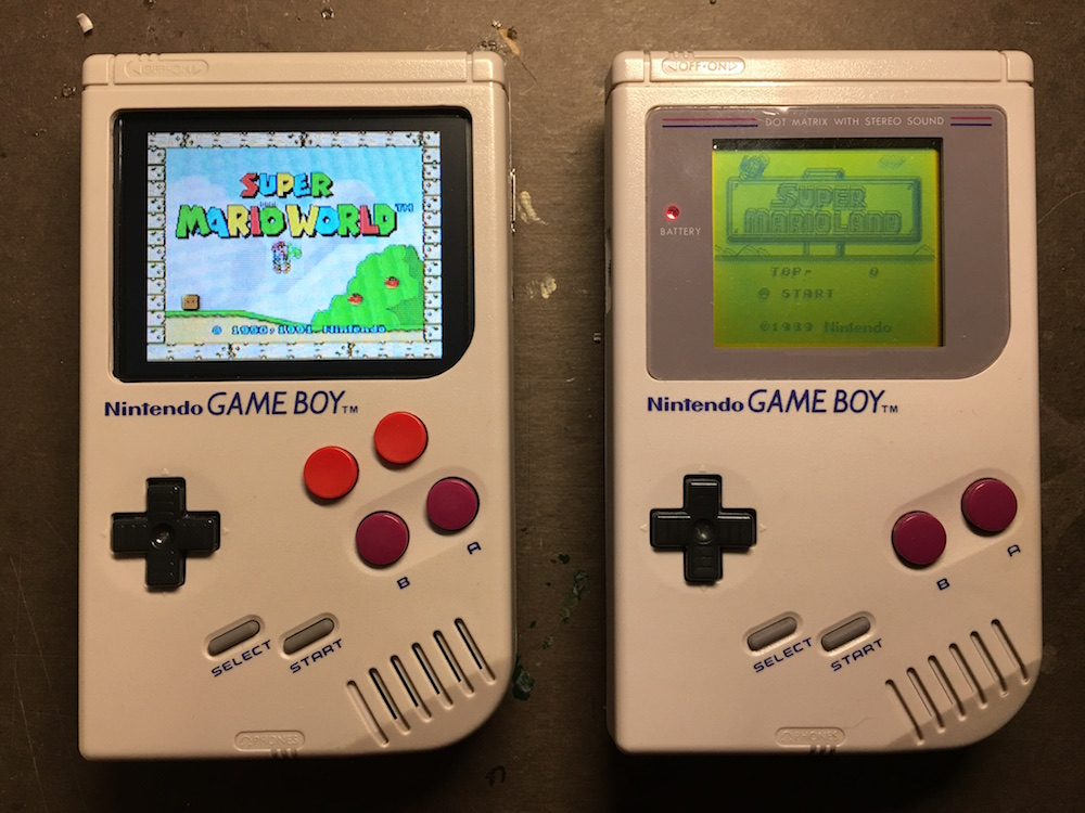 Game Boy Zero Custom Mod