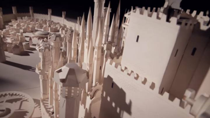 Game of Thrones Opening Sequence Paper