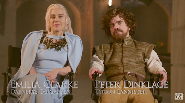 Game Of Thrones Saturday Night Live Spoof