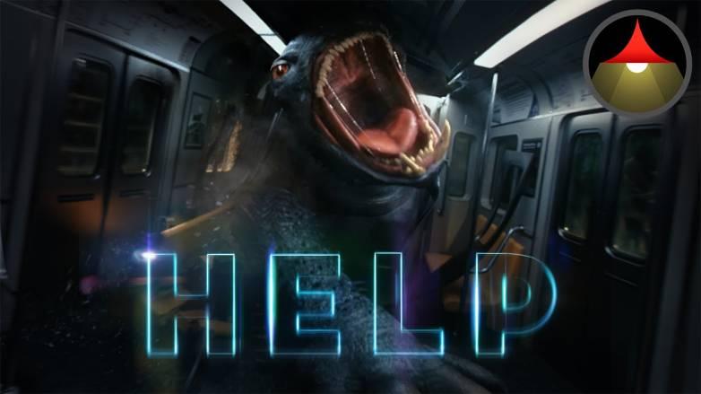 Google VR Monster Movie