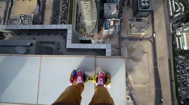 Hoverboard Stunts Video