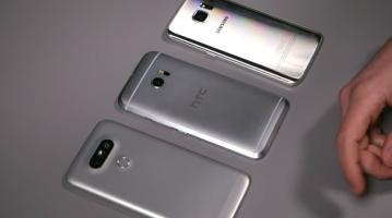 HTC 10 Vs. Galaxy S7 Vs. LG G5 Video