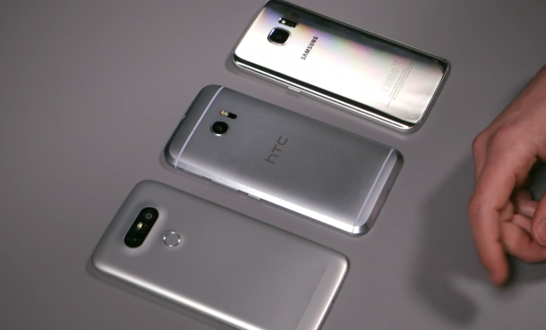 HTC 10 Vs. Galaxy S7 Vs. LG G5 Video