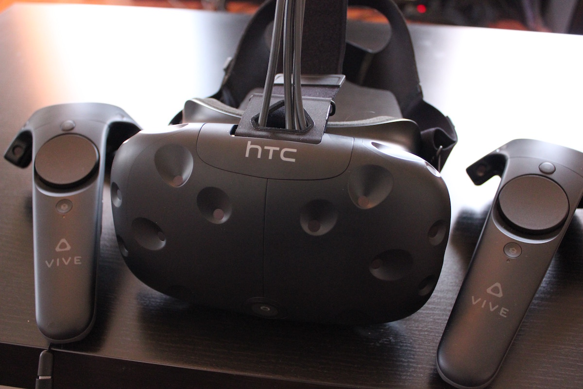 HTC Vive Hands-On Impressions